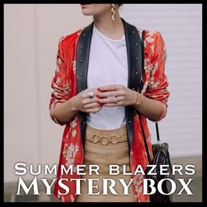 Jackets & Blazers - SUMMER BLAZERS MYSTERY BOX (3 ITEMS)